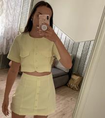 Komplet-top i suknja