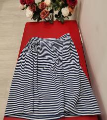 Mornarska lepršava suknja