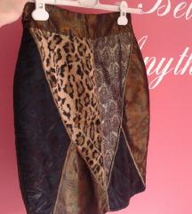 Zimska suknja (do koljena) UNIKAT!!!