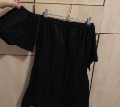 Haljina bez ramena