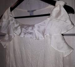 H&M bijeli top/majica S
