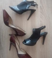 Zara i Sisley cipele na petu, lot, vel 40