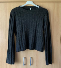 SNIŽENO Prava vuna - H&M pulover