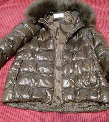 Trussardi topla maslinasta jakna L