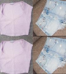 jeans hlacice i top