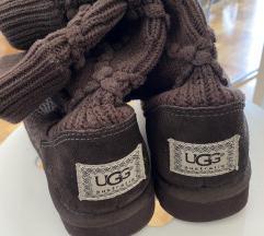 %% UGG Australia - smeđe pletene čizme