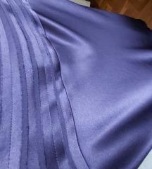 RASPRODAJA Sjajna svečana ljubičasta suknja
