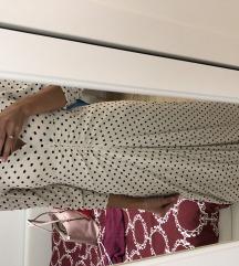 Duga točkasta haljina
