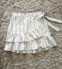 %%Stradivarius nova suknja sa lanom