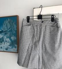 NOVA Karirana retro crno bijela suknja 🖤