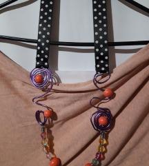 Ogrlica perlice na žici