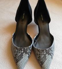 Zara kožne kombinirane cipelice