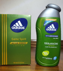 adidas after shave 100 ml i gel za tuširanje