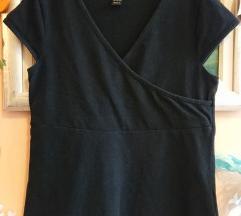 H&M MAMA crna majica za dojenje vel. M