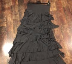 Duuuga suknja s zanimljivim volančićima / haljina