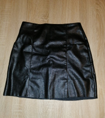 Pull&Bear kožna suknja