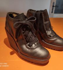 Fly cipele kožne , platforme  br 39