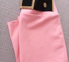 Pink suknja sa remenom, s