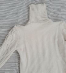 No Name brend bijeli pulover rolka