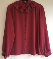 Vintage fuksija bluza