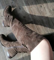 BATA visoke cizme do koljena od prave koze