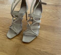 Zara krem sandale