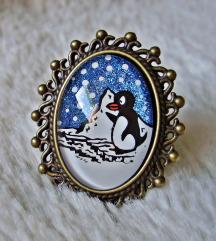 Prsten ''Pingu'' (ručni rad)
