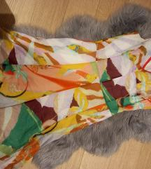 Laurel svilena haljina