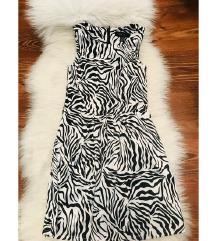 Zebra amisu haljina