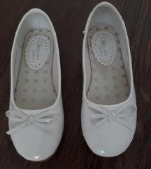 Bijele balerinke za djevojčice s PT