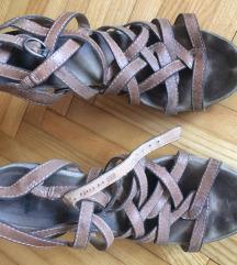 Bronx bež sandale