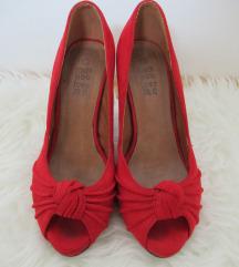 Crvene svečane cipele na petu, 39
