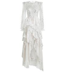 Zimmermann like bijela haljina