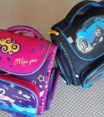 Dvije skolske torbe za prvašiće