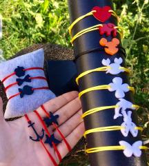 Plexy narukvice - dostupni razni oblici i boje