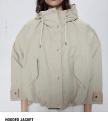 ZARA jakna S u maslinasto zelenoj boji