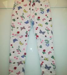 H&M  treggings hlače, vel. 122
