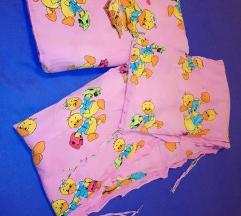 Ogradica i poplun za dječji krevetić, kinderbet