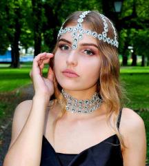 Novi srebrni ukras za kosu