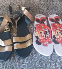 Lot sandale Guliver i japanke Primark