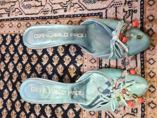 Sandale tirkizne 39