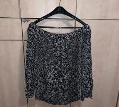 H&M top bluza off shoulder