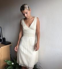 Beige svečana haljina