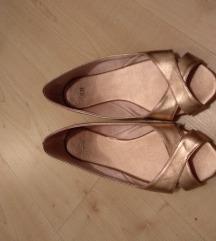H&M rosegold balerinke
