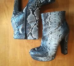 Čizme - uzorak zmijske kože