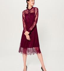 Mohito bordo haljina