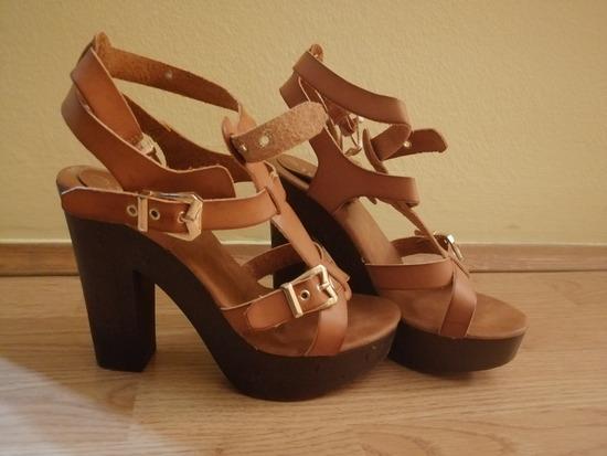 Sandale smeđe MASS