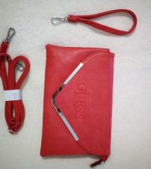 Guess crvena pismo torba NOVA!