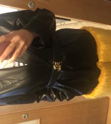 Zara kaput umjetno krzno nov !!