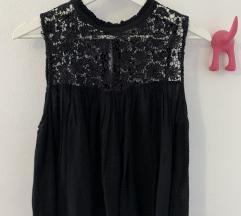 Zara crna bluza kosulja